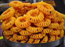 Indian Jalebi Stock Images