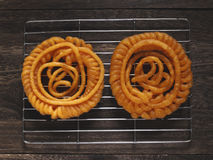 Indian jalebi sweets Stock Photography