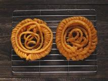 Indian jalebi sweets Stock Photography