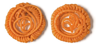 Indian jalebi sweets Royalty Free Stock Photography