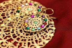 Indian Jewellery. Royalty Free Stock Photo