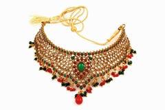 Indian jewelry stock image