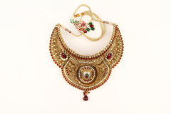 Indian jewelry Royalty Free Stock Photography
