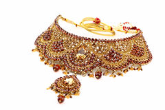 Indian jewelry Royalty Free Stock Images