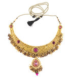 Indian jewelry. Isolated on a white background Royalty Free Stock Image