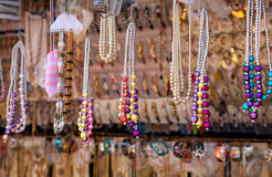 Indian jewelry shop Royalty Free Stock Photography
