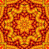 Indian kaleidoscope. Indian color kaleidoscope for relax time Stock Photos