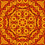 Indian kaleidoscope. Indian color kaleidoscope for relax time Stock Photo