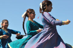 Indian Kathak Dancers Stock Photo