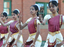 Indian Kathak Dancers Royalty Free Stock Photo