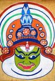 Indian kathakali painting Royalty Free Stock Photo