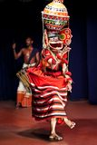 Indian Kathakali performer Royalty Free Stock Images