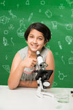 Indian kids and science Stock Photos