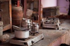 Indian Kitchen Royalty Free Stock Photo