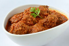 Indian Kofta Curry Stock Photo