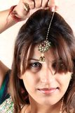 Indian kundan jewellery Royalty Free Stock Photography