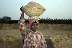 Indian labour Stock Photo