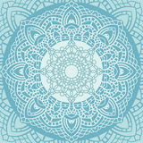 Indian lace ornament. Royalty Free Stock Photo