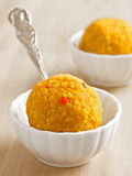 Indian laddoo sweets Stock Photography