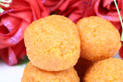 Indian ladoo sweet Stock Images
