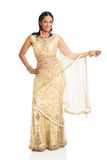 Indian lady saree Stock Images