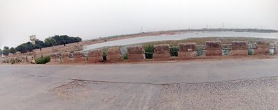 Charadva lake in Gujarat Indian nature beautiful Royalty Free Stock Image