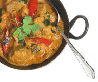 Indian Lamb Korma Curry Royalty Free Stock Photo