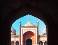 Indian landmark - Jama Masjid mosque Royalty Free Stock Photography