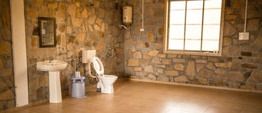 Indian Latrine room Royalty Free Stock Photography