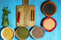Indian lentil daal Stock Photos