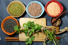 Indian lentil daal Royalty Free Stock Images
