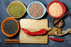 Indian lentil daal Stock Photo