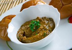 Indian lentil dish Stock Image
