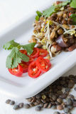 Indian lentil salad Royalty Free Stock Photos