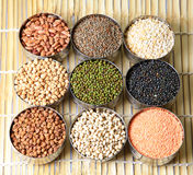 Indian lentils and beans Royalty Free Stock Image