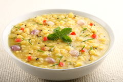 Indian lentils curry  dish. Royalty Free Stock Photo