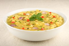 Indian lentils soup. Royalty Free Stock Photos