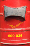 Indian letterbox close up Royalty Free Stock Photos