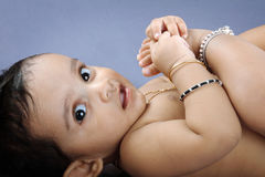 Indian Little Baby Stock Image