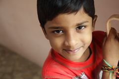 Indian Little Boy Royalty Free Stock Photo