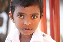 Indian little boy looking calm. Royalty Free Stock Image