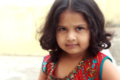 Indian Little Girl Royalty Free Stock Images