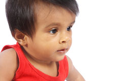 Indian Little Girl Baby Royalty Free Stock Photos