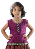 Indian Little Girl Stock Photography