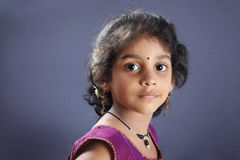 Indian Little Girl Royalty Free Stock Photos