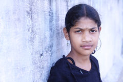 Indian Little Girl Stock Image