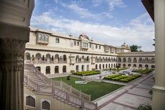 Indian luxury palace Royalty Free Stock Image