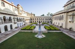 Indian luxury palace Stock Photo