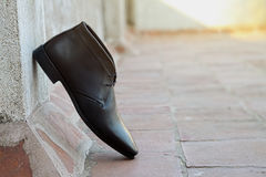 Indian Made Men`s Shoes Royalty Free Stock Image