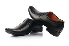 Indian Made Men& x27;s Shoes Royalty Free Stock Photo